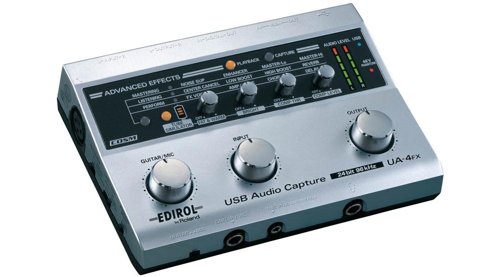 Звуковые карты Edirol UA4FX USB