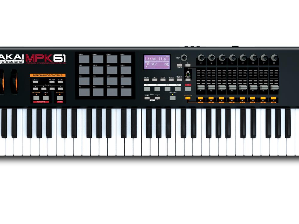 Midi-клавиатуры Akai MPK 61