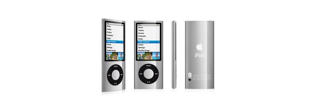 iPod nano Apple iPod nano 8GB Silver (5Gen) MC027