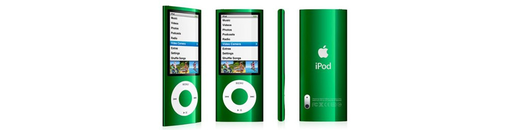 iPod nano Apple iPod nano 16GB Green (5Gen) MC068