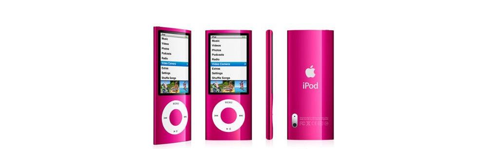 iPod nano Apple iPod nano 16GB pink (5Gen) MC075
