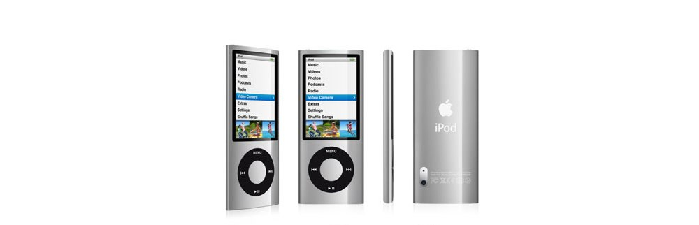iPod nano Apple iPod nano 16GB Silver (5Gen) MC060