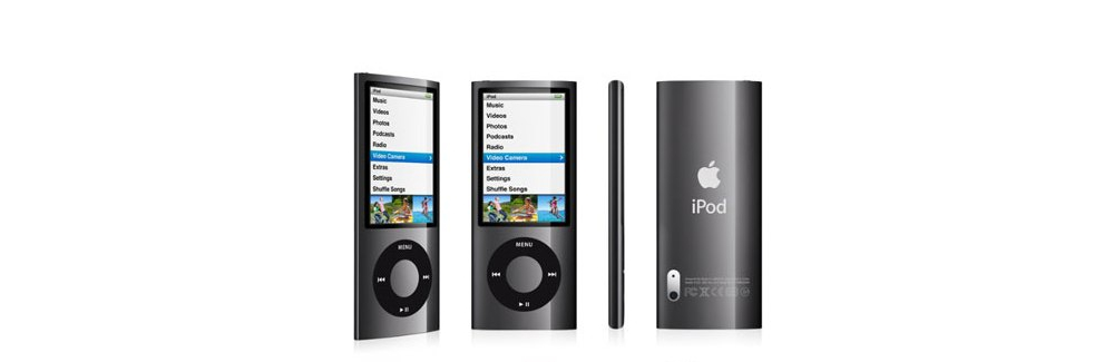 iPod nano Apple iPod nano 8GB black (5Gen) MC031