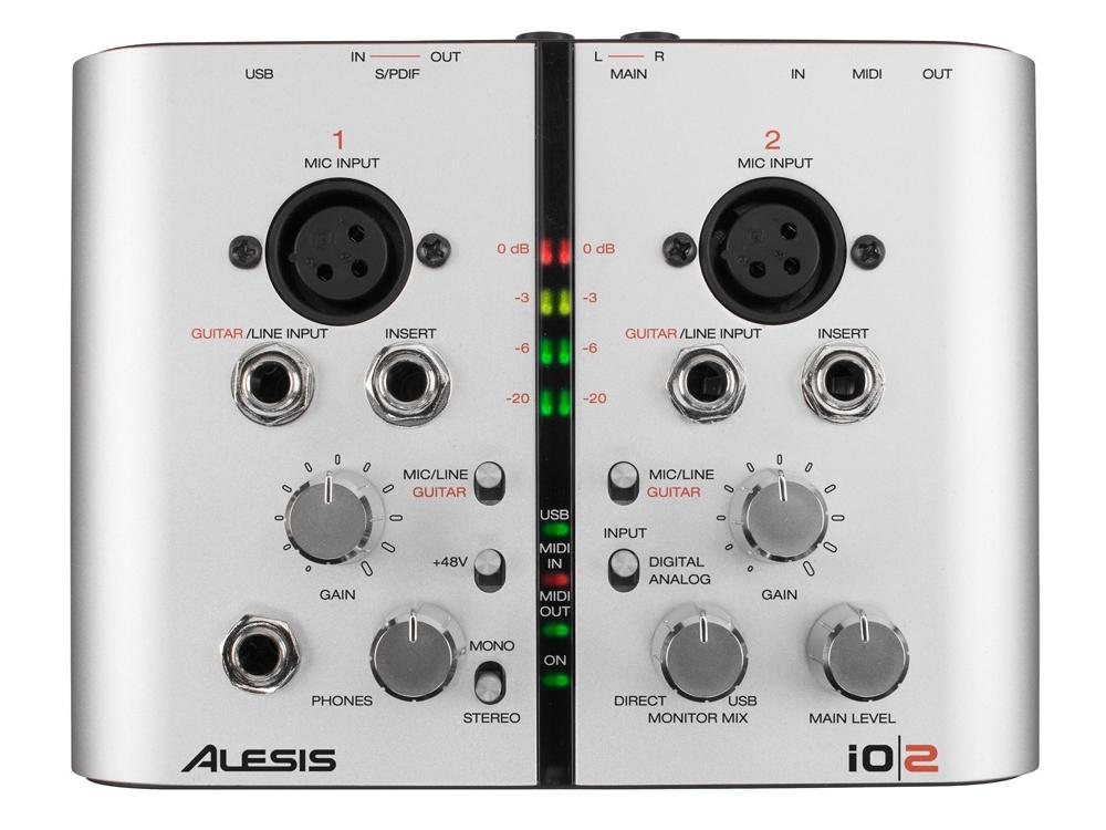 Звуковые карты Alesis IO/2