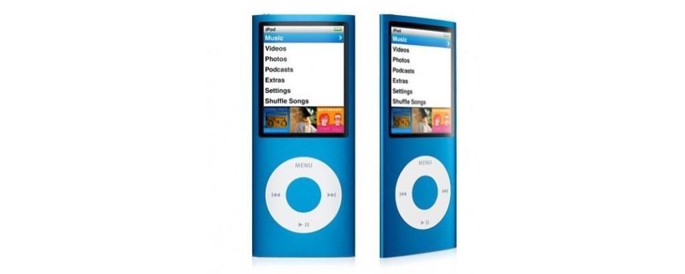 iPod nano Apple iPod nano 16GB Blue (5Gen) MC066
