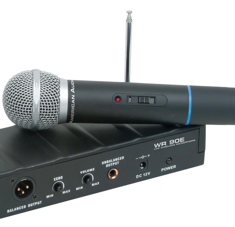 Все Микрофоны American Audio WR-90E