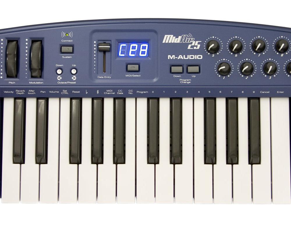 Midi-клавиатуры M-Audio MidAir 25