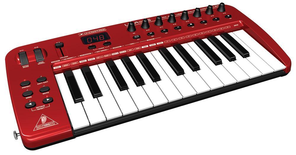 Midi-клавиатуры Behringer UMA 25S