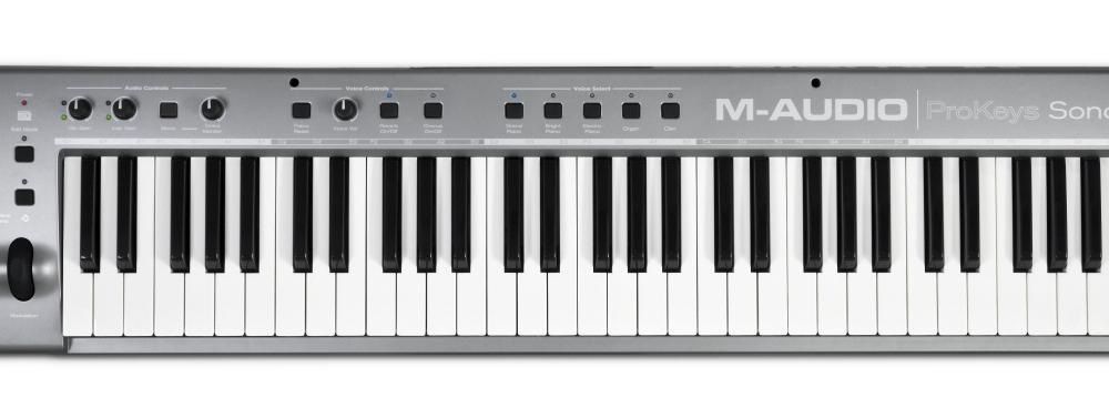 Midi-клавиатуры M-Audio ProKeys Sono 61