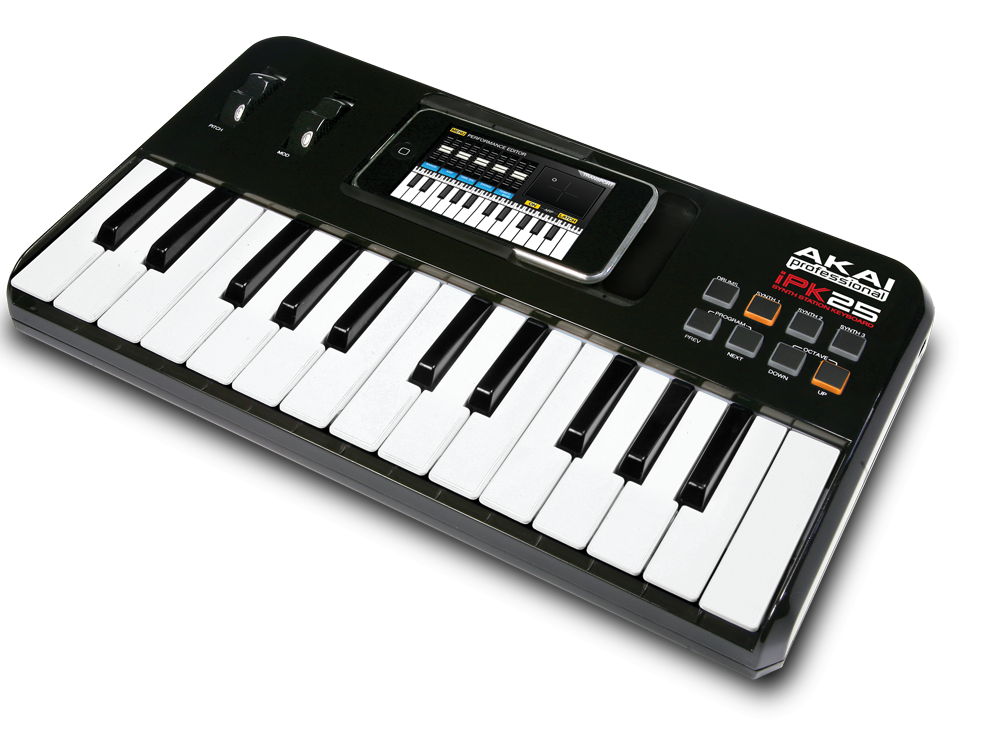 Midi-клавиатуры Akai IPK25 USB