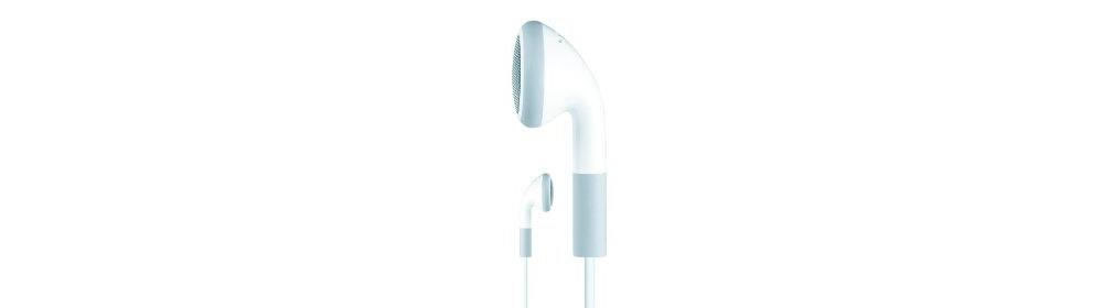 Apple accessories  Apple Наушники с ДУ iPod Earphones with Mic [MB770G/B]