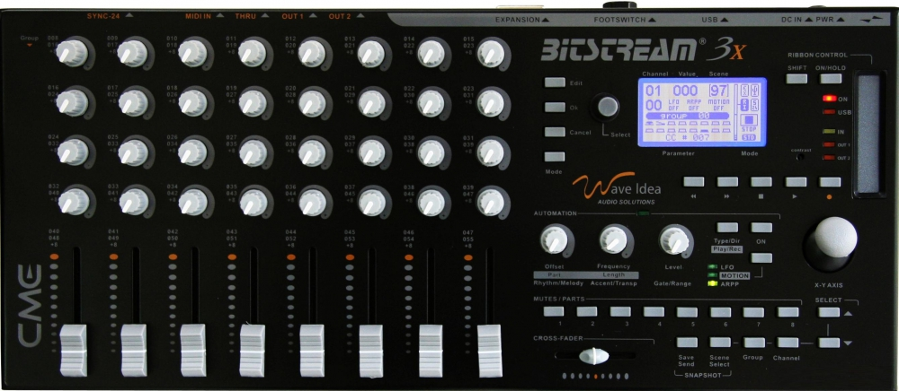 DJ-контроллеры CME Bitstream 3x