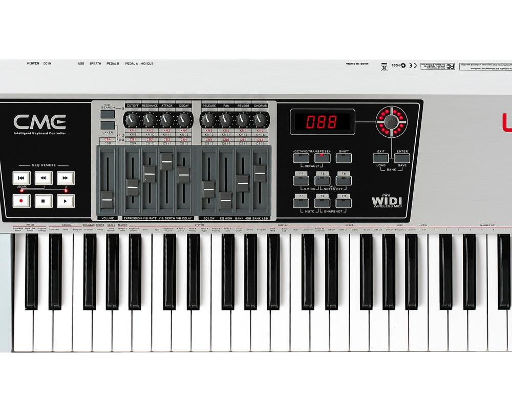 Midi-клавиатуры CME UF50