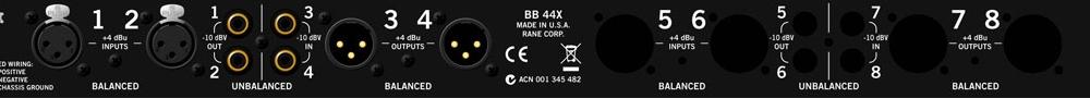 Аудио конверторы, рекордеры Rane BB 44X