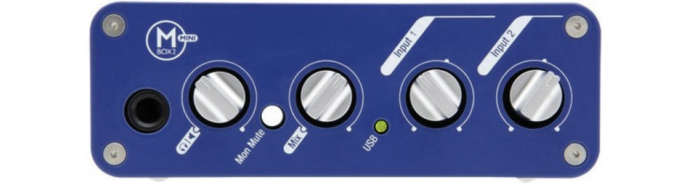 Звуковые карты Digidesign Mbox 2 Mini
