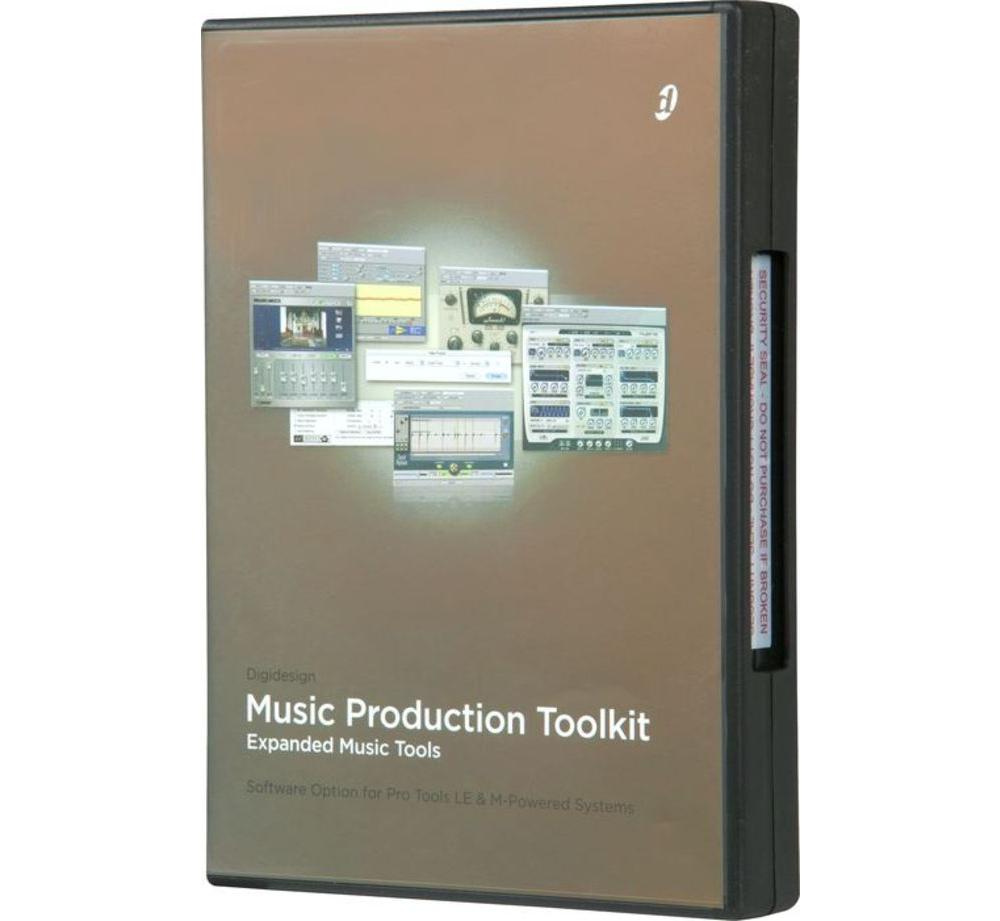 Программы для создания музыки Digidesign Music Production Toolkit 2