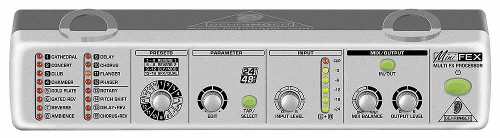 Процессоры эффектов Behringer Mini Fex FEX800