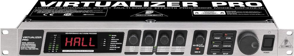 Процессоры эффектов Behringer Virtualizer Pro DSP2024P