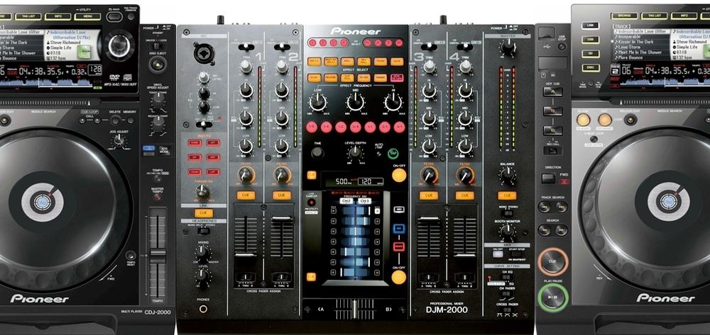 DJ-комплекты Pioneer CDJ-2000(2шт)+DJM-2000