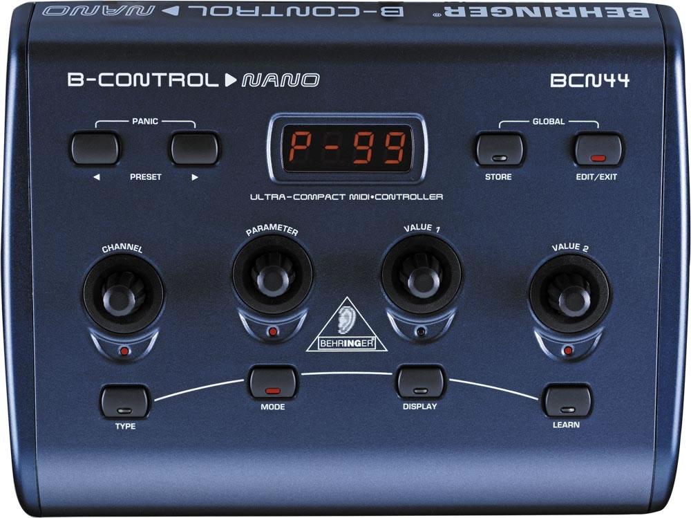 DJ-контроллеры Behringer BCN44 B-CONTROL NANO