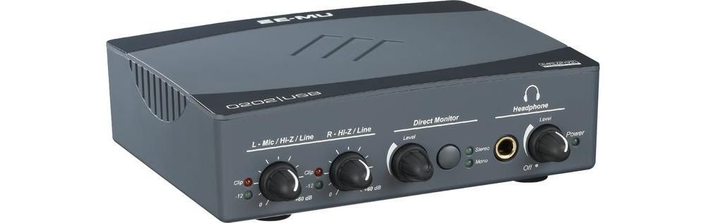 Звуковые карты Creative Professional E-Mu 0202 USB 2.0
