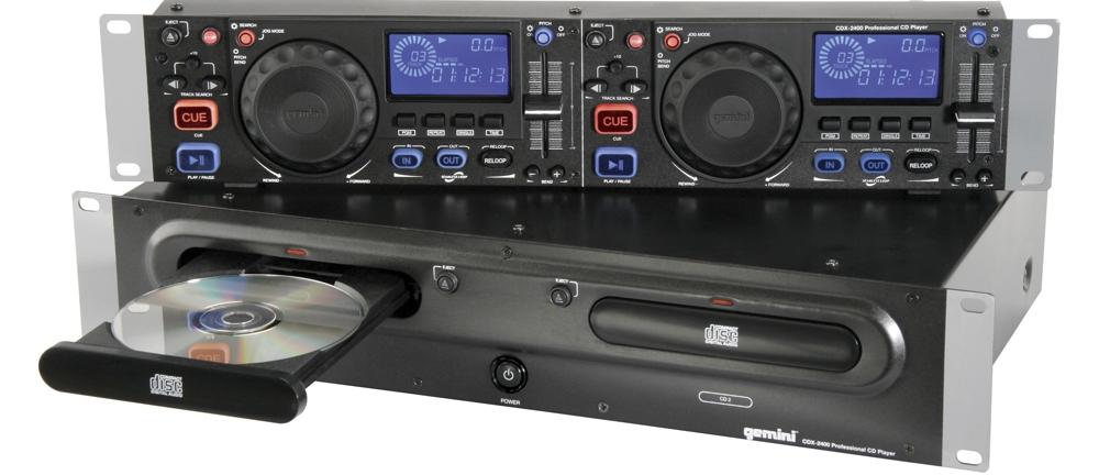 CD/USB-проигрыватели Gemini CDX-2400