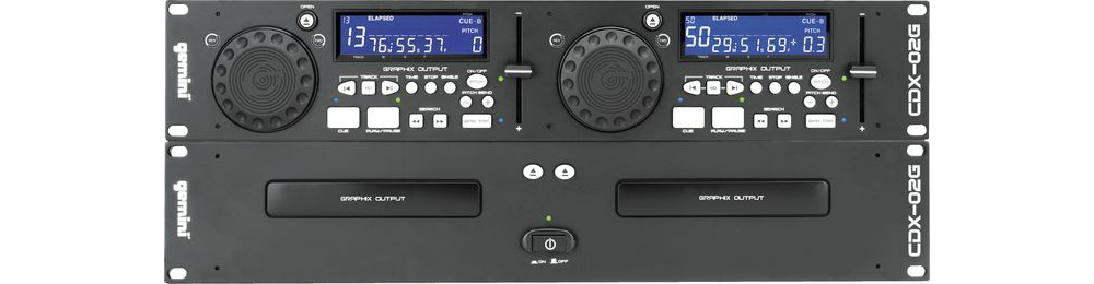 CD/USB-проигрыватели Gemini CDX-02G