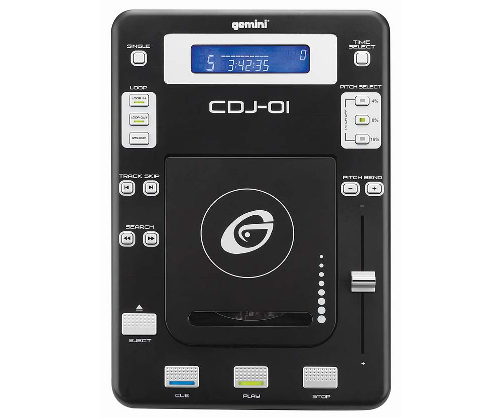 CD/USB-проигрыватели Gemini CDJ-01