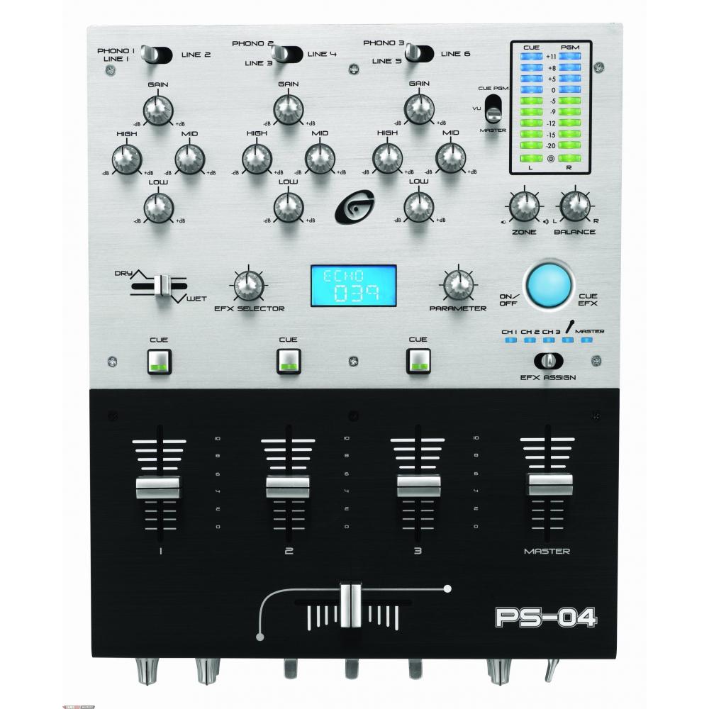 DJ-микшеры Gemini PS-04E