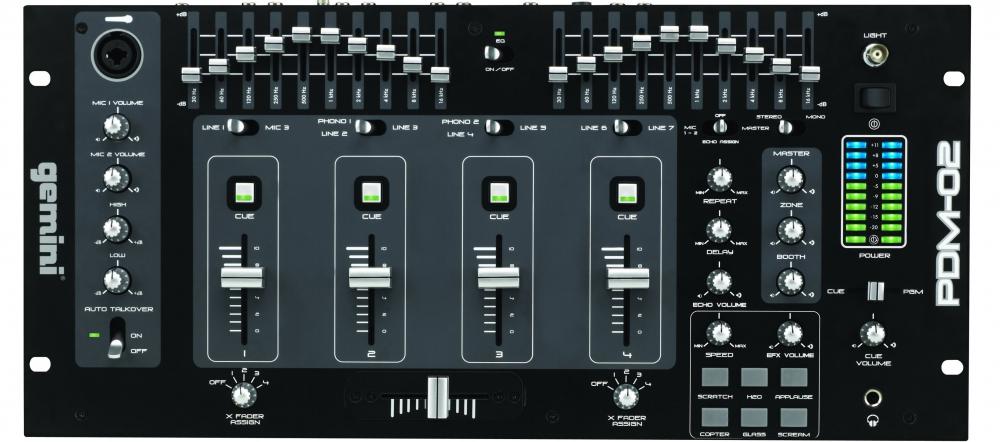DJ-микшеры Gemini PDM-02