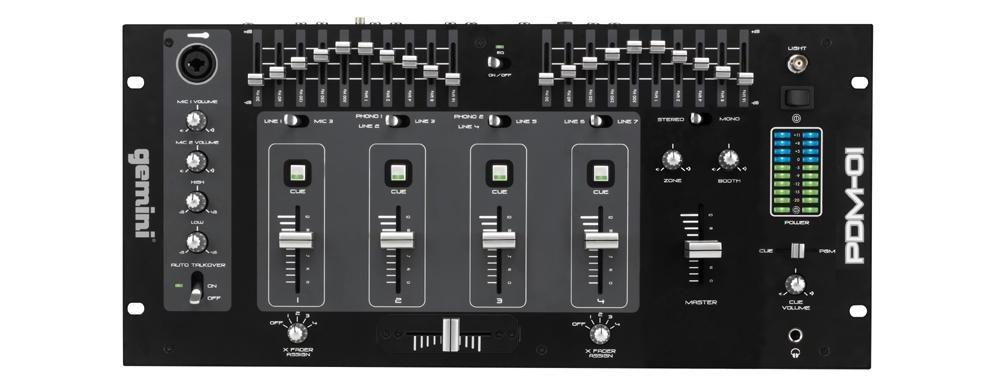 DJ-микшеры Gemini PDM-01