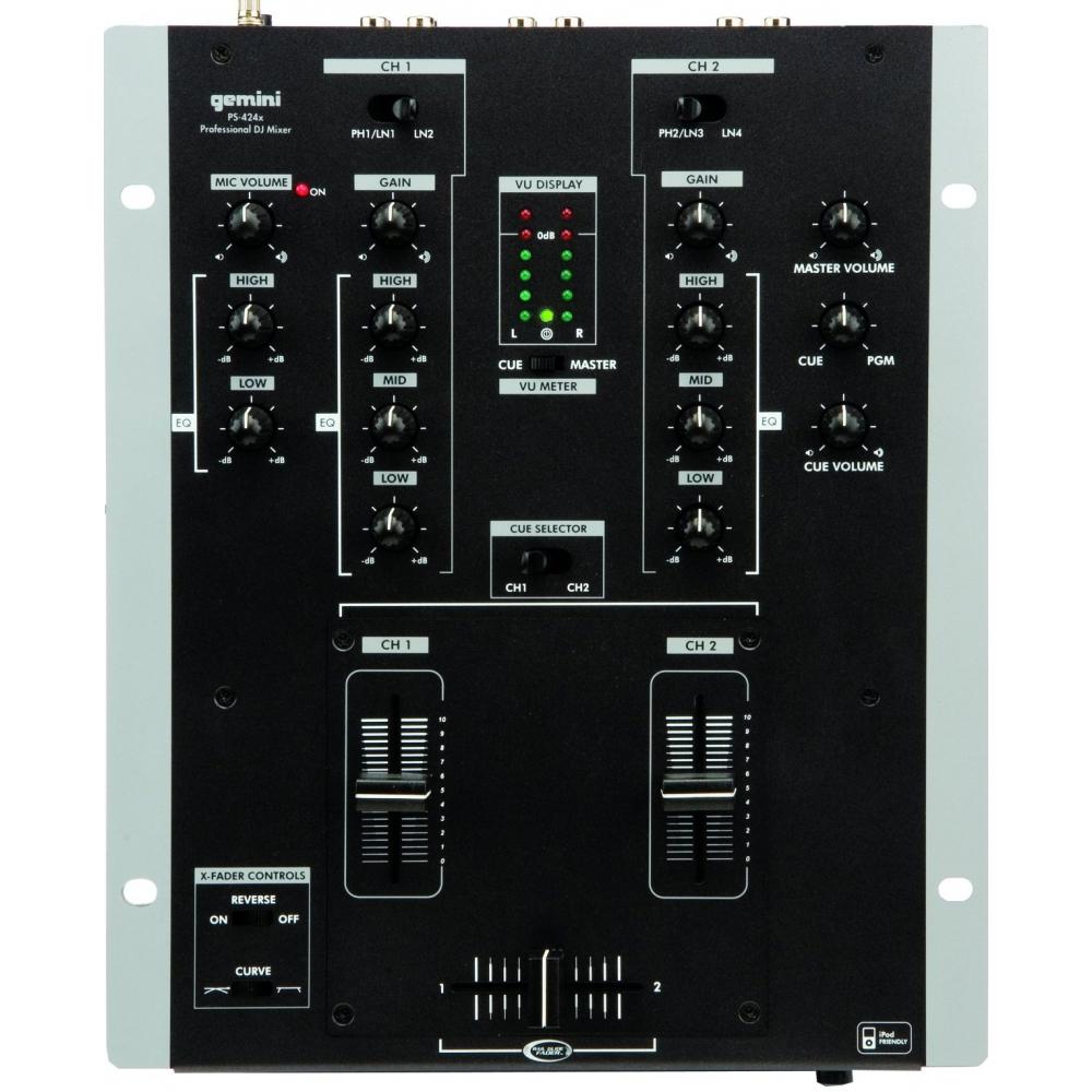 DJ-микшеры Gemini PS-424X