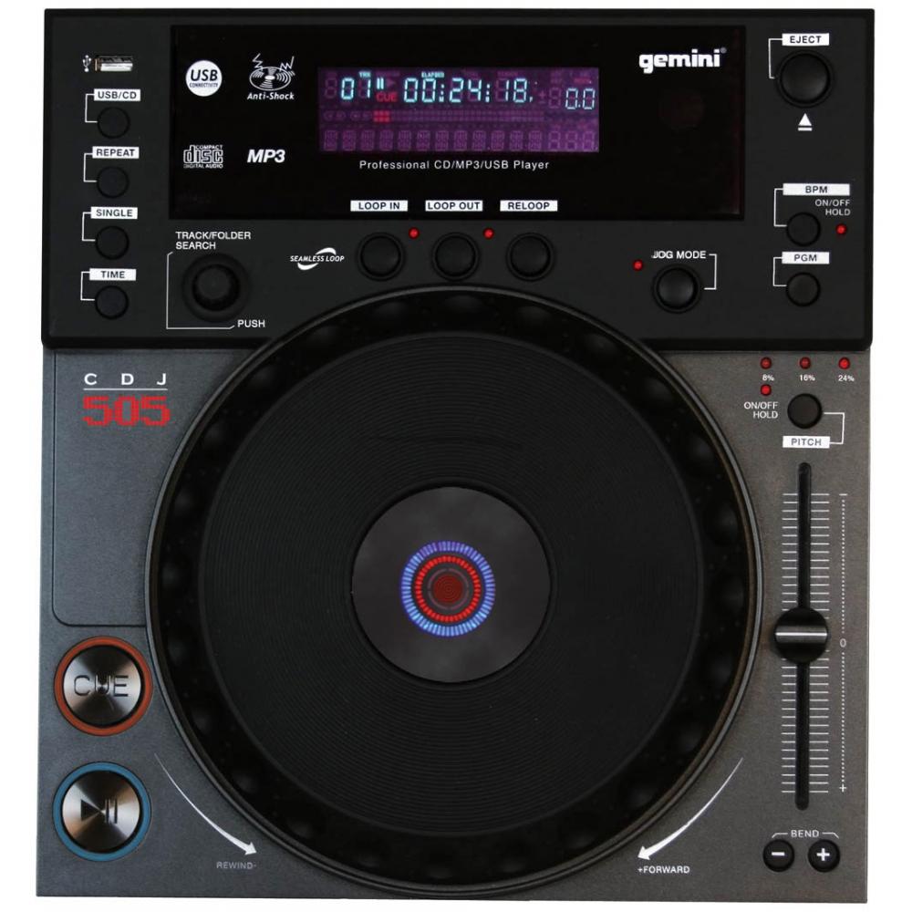 CD/USB-проигрыватели Gemini CDJ-505