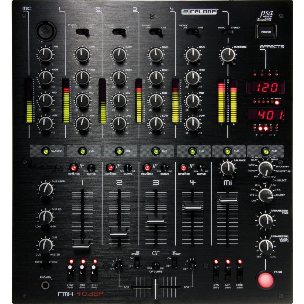 DJ-микшеры Reloop RMX-40 DSP Black Fire Edition