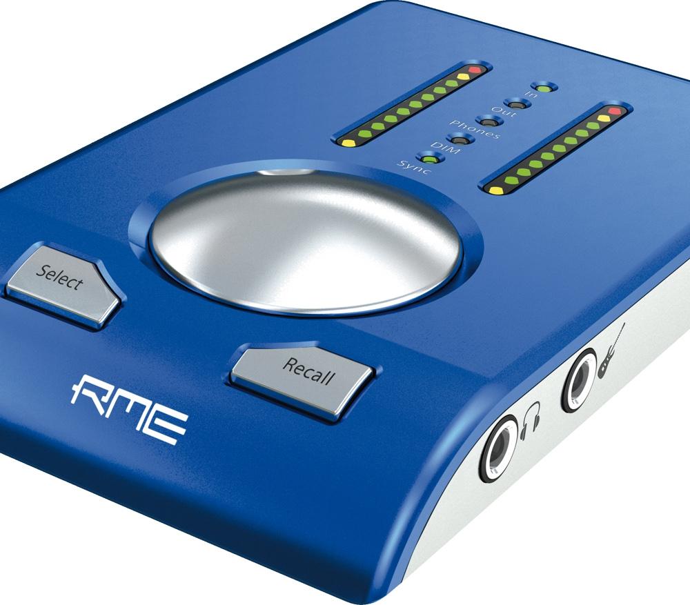 Звуковые карты RME Babyface Blue Edition