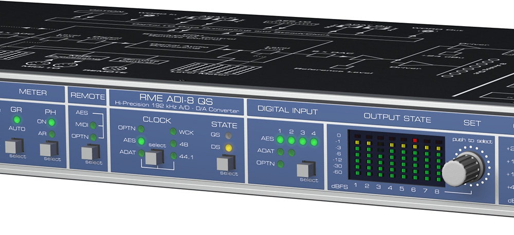 Аудио конверторы, рекордеры RME ADI-8 QS M