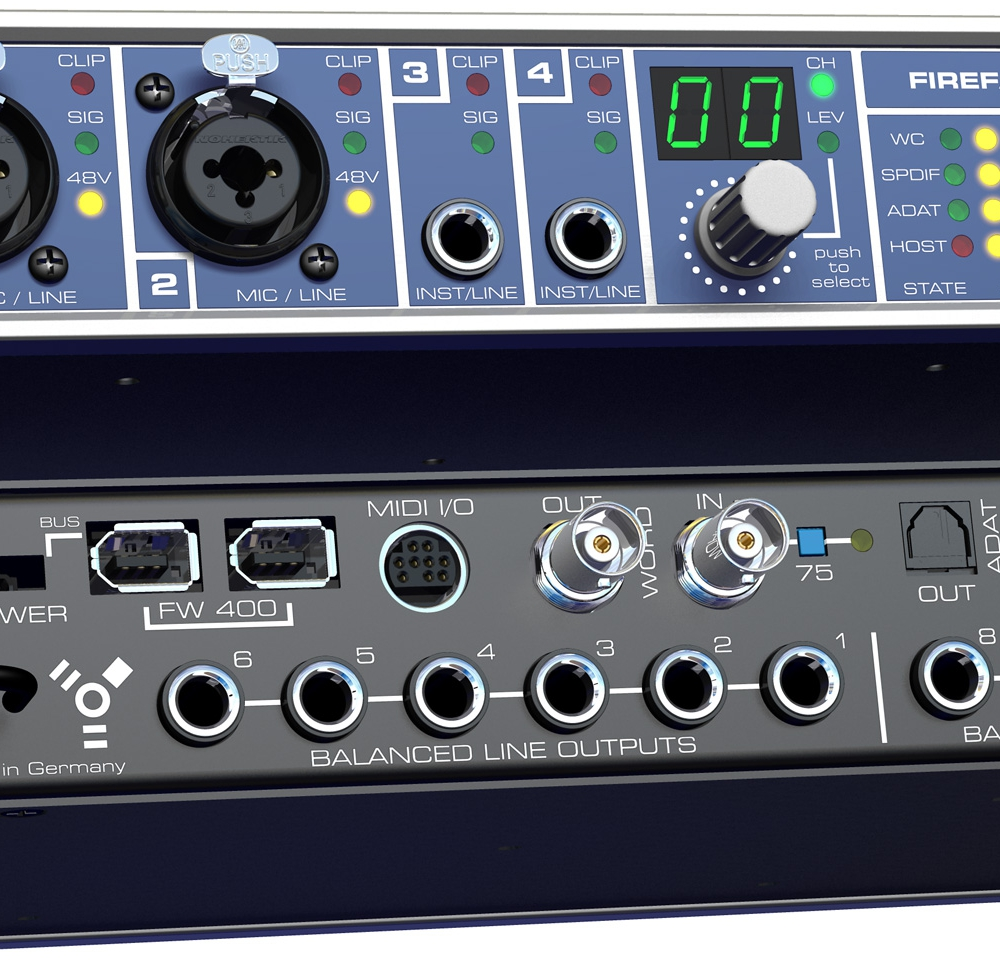 Звуковые карты RME FireFace 400