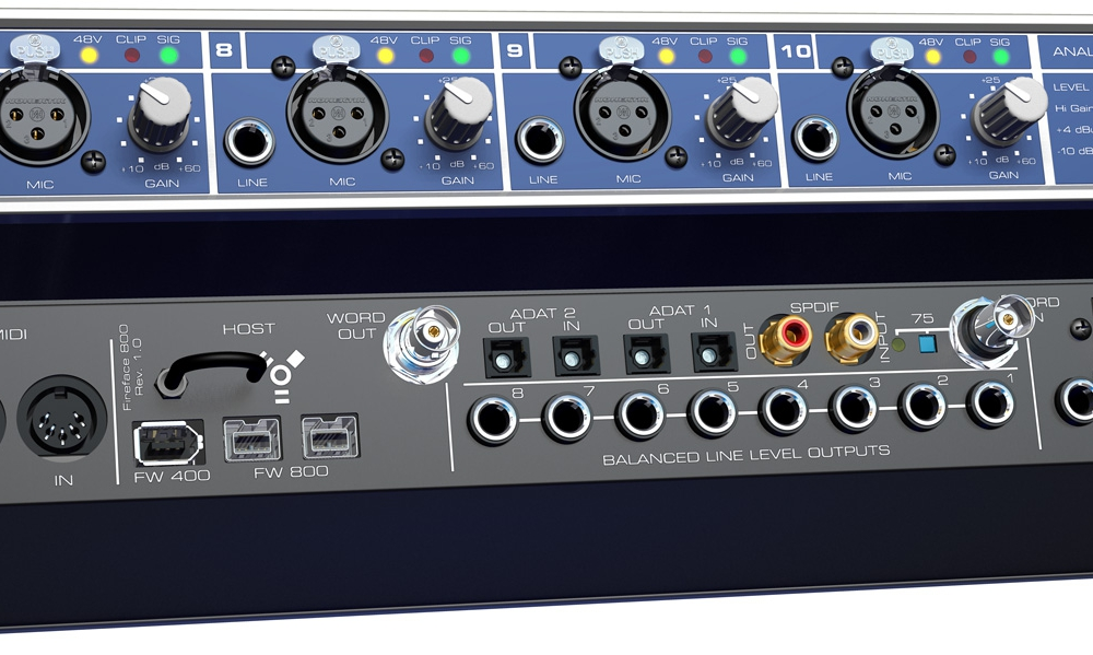 Звуковые карты RME Fireface 800