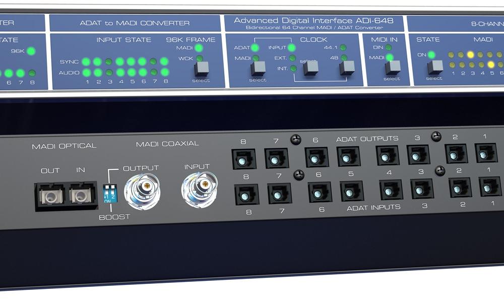 Аудио конверторы, рекордеры RME ADI-648