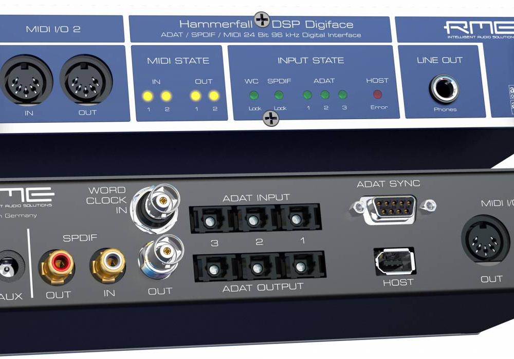 Звуковые карты RME DigiFace