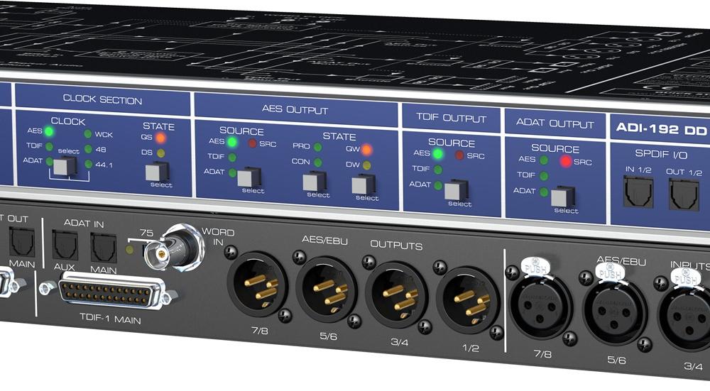 Аудио конверторы, рекордеры RME ADI-192 DD