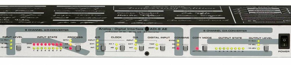 Аудио конверторы, рекордеры RME ADI-8 AE