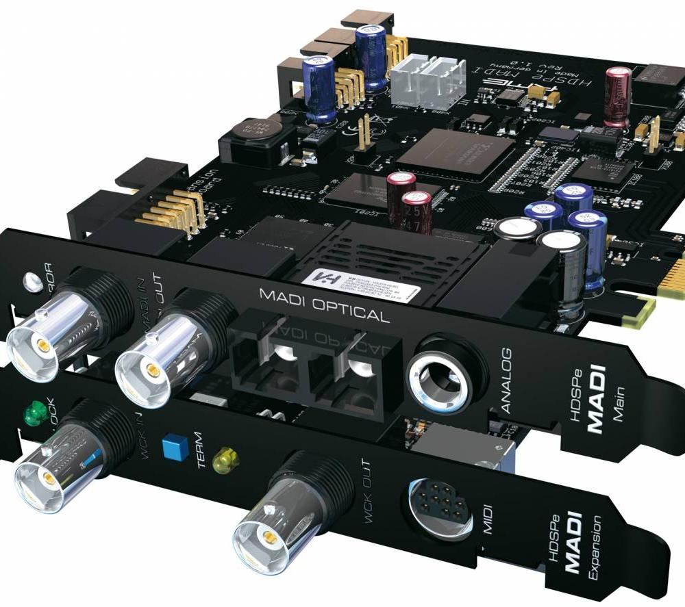 Звуковые карты RME HDSPe MADI