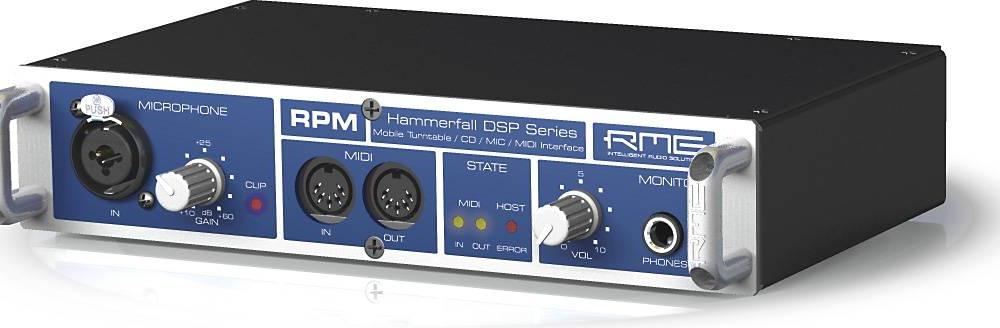 Звуковые карты RME HDSP RPM