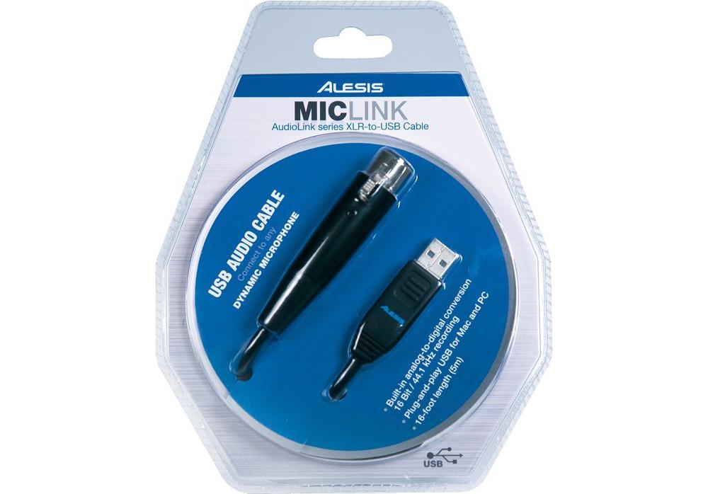 Аудио конверторы, рекордеры Alesis Mic Link USB
