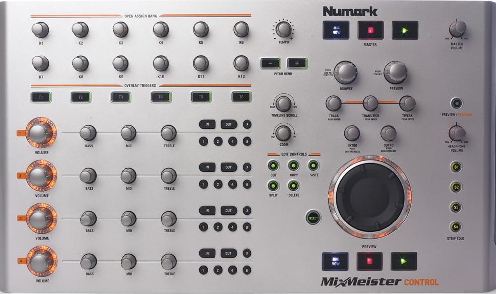 DJ-контроллеры Numark Mixmeister Controll
