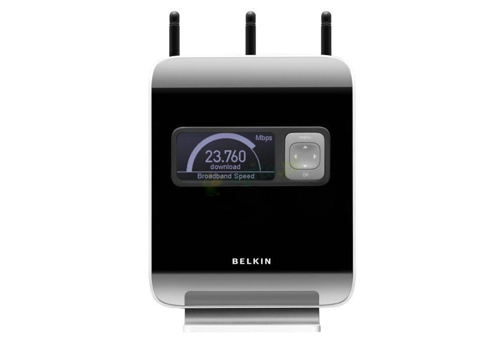 Belkin accessories  Belkin N1 Vision Wireless Router F5D8232YY4