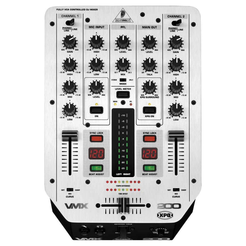 DJ-микшеры Behringer VMX 200 Pro Mixer