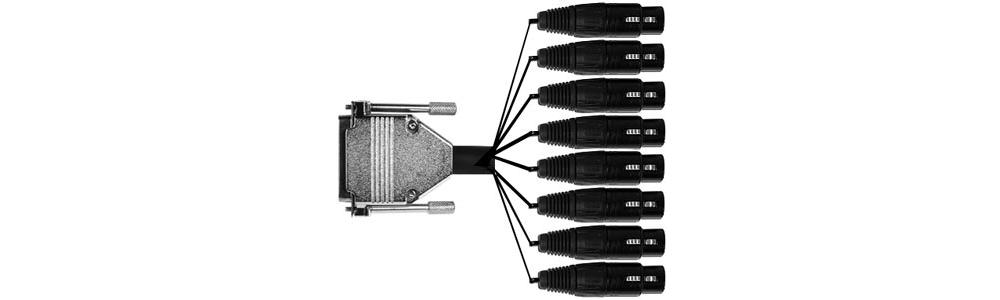 Коммутация Apogee DA 8 IFC
