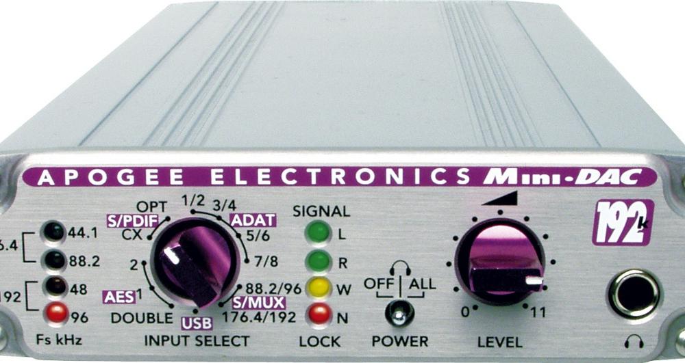 Звуковые карты Apogee Mini Dac